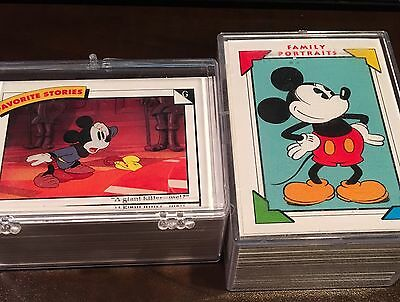 Disney Collector Cards Impel 1991 Complete Set