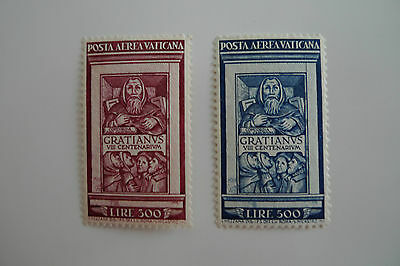 Vatican City Scott Cat. Numbers C 20 And 21 Mint Never Hinged