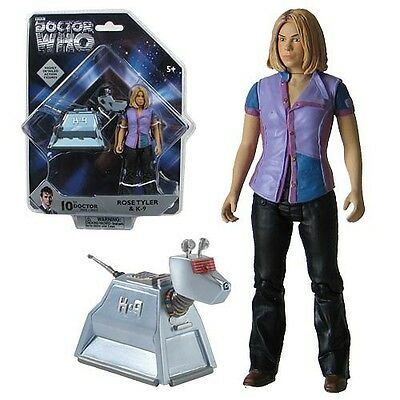 BBC DOCTOR WHO Doctor Who Rose Tyler and Rusty K-9 Action Figure Set