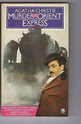 Murder on the Orient Express [Agatha Christie, 1974; Fontana paperback]