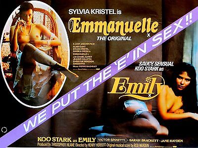 "Emmanuelle /  Emily 16"" x 12"" Reproduction Movie Poster Photograph"
