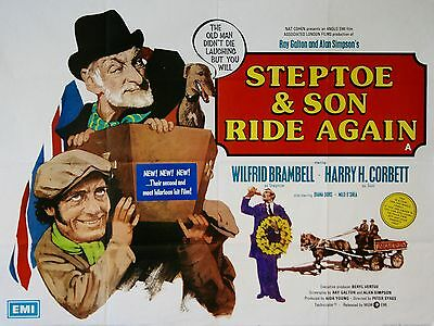 """Steptoe and Son Ride Again 16"""" x 12"""" Reproduction Movie Poster Photograph 2"""