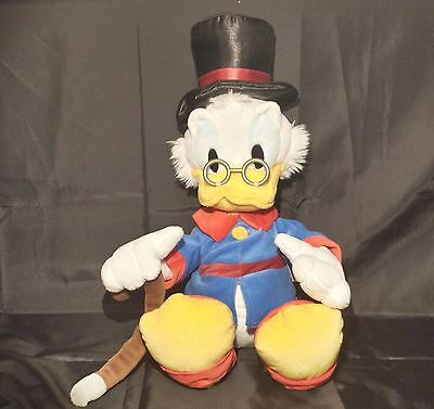 "Rare 20"" Long Disney Store * Scrooge Mcduck Plush *"