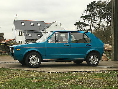 75 VW Mk1 golf Swallowtail. Good project car with original interior.