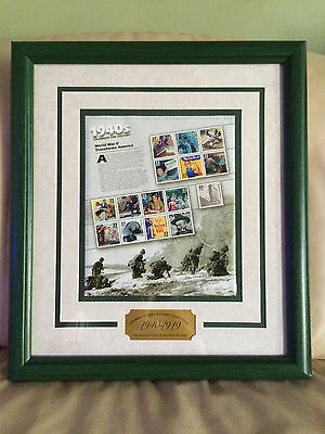 US Postal Service 1940's Celebrate the Century American Collectible Stamps