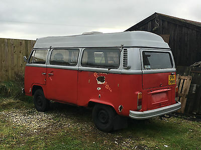 1977 VW Bay window Devon moonraker camper restoration project