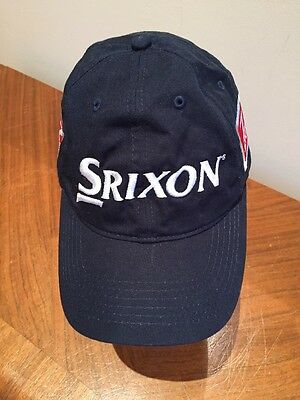 99acc415b57 Srixon Navy Blue Golf Cap Hat Adjustable 1 of 10Only ...