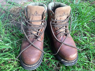 Men's Colorado Hiking Boots Size US 7.5 Great Condition