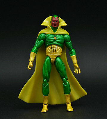 "Marvel Universe Avengers Vision Series 2 3 3/4"" 3.75"" Loose Auction Figure ZX459"