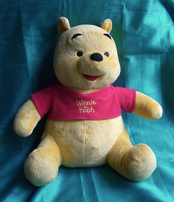 Large Talking Winnie The Pooh Plush Toy by Fisher Price