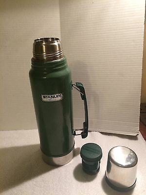 Aladdin Stanley Thermos MADE IN BRENTWOOD TN METAL TUMBLER WITH CUP MADE IN USA