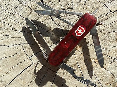 Victorinox Swiss Army Knife Midnite Manager Ruby