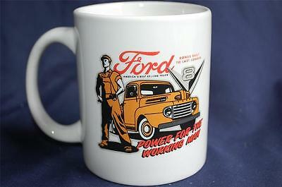 """Ford """"Power for the Working Man"""" Ceramic Coffee Mug America's Best Selling Truck"""