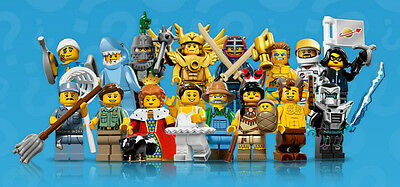 Lego  Minifigures  - Series 15 - Complete Set Of 16 - Perfect Condition !