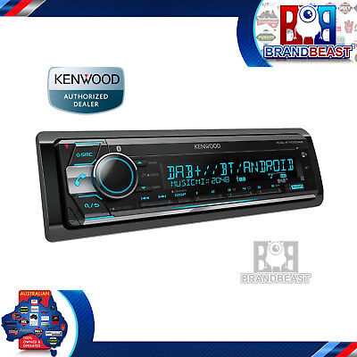 Kenwood Kdc-x7100dab Usb Cd Dual Bluetooth Car Stereo Android Iphone Digital Dab