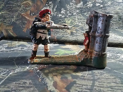 Antique William Tell Mechanical Cast Iron Bank Early Reproduction Bits & Pieces