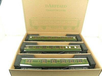 Darstaed O Gauge Southern Maunsell Corridor Coaches x3 Set B 2/3 Rail B/New Bxd