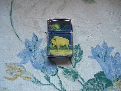 Sacred White Buffalo Bison Lighter A.A.D.L.P China