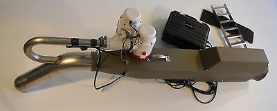 """Alluvial Pacific Diamonds Gold  Electric Suction Dredge 4"""" with 2 Lipo batteries"""