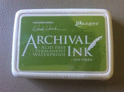 Ranger Archival Ink Leaf Green