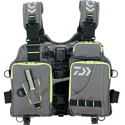 NEW Daiwa Floating Game Fishing Vest DF-6403 From Japan FREE SHIPPING!