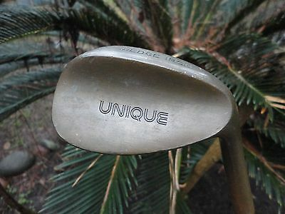 Rare Unique Copper Wedge Iron Golf Club RH Right Handed Made In England Steel