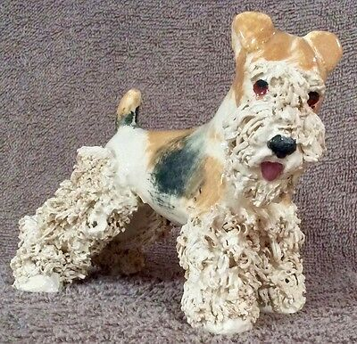 Wire Fox Terrier Spag Standing JC 4 x 5.5 - Lot FT3