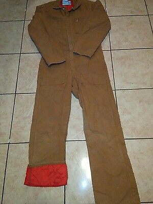 insulated work leisure men coverall size small regular
