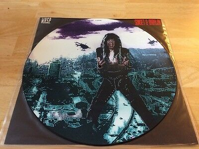 """W.A.S.P. - Sunset & Babylon 12"""" Picture Disc Single"""