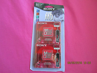 SONY  Recordable MiniDisc MD 80-Minute (twin Pack)