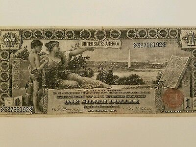 1896 One Dollar Silver Certificate Educational Note
