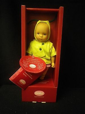"""9"""" Sylvia Natterer Baby """"Lucie"""" in Box By Gotz"""
