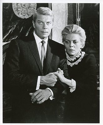 Peter Graves Barbara Bain Old Lady Mission Impossible Original 1968 Cbs Tv Photo