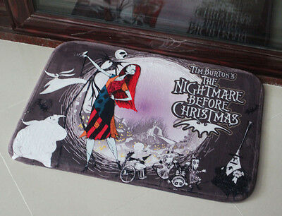 The Nightmare Before Christmas mat Customize doormats,ground mats.Shipping free