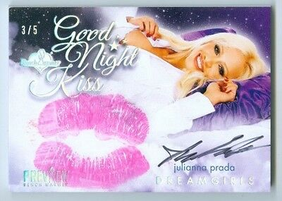 Julianna Prada Good Night Kiss Autograph /5 Benchwarmer Dreamgirls Preview 2016
