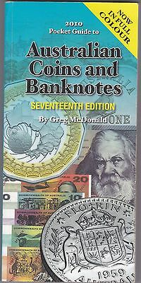 The Pocketbook Guide for Australian Coins & Banknotes Greg McDonald 17th Edition