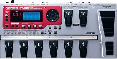 BOSS GT-10B Bass Effects Processor / Cosmetically Sweet / Electronically Perfect