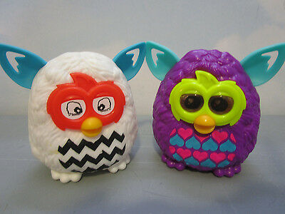 (2) Mcdonalds 2013 Happy Meal Furby Toys (S3/238)