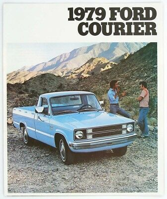 Ford 1979 Courier Dealer Sales Brochure