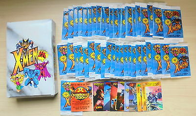 Fleer SkyBox 1997 X-MEN Trading Card 48 packs Set Box Overpower Marvel