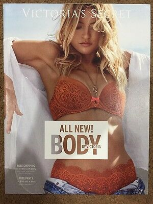 VICTORIA'S SECRET Catalog Body By Victoria Booklet Spring 2016