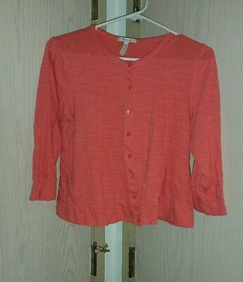 Women's Old Navy Maternity Cardigan, Size L, Pink, Cropped
