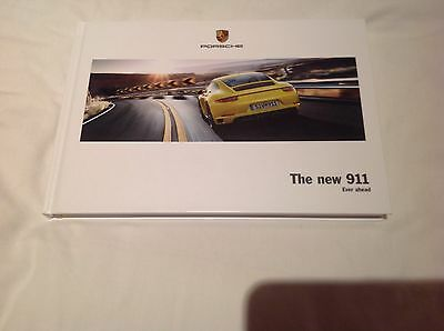 Porsche The New 911 Ever Ahead  Sales Brochure  2016/2017
