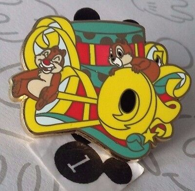 Chip n Dale Soundsational Parade Horns Mystery Box Chipmunk DLR Disney Pin