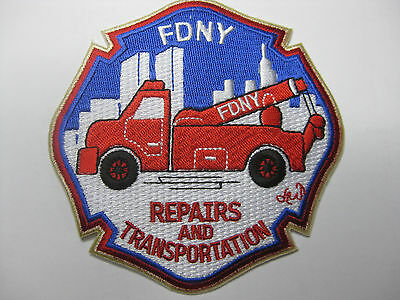 U.s. Fire Brigade Fire Patch Patch Fdny Repairs And Transportation New
