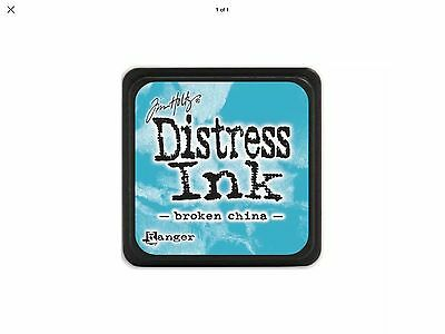 Tim Holtz Distress Ink Pad Mini Size - Broken China