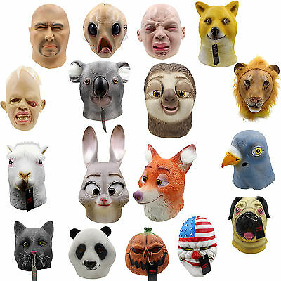 New Masquerade mask zombie halloween costumes mask fancy cosplay horror