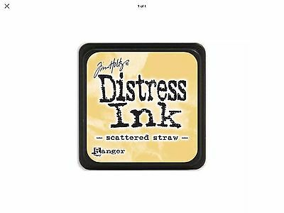 Tim Holtz Distress Ink Pad Mini Size - Scattered Straw