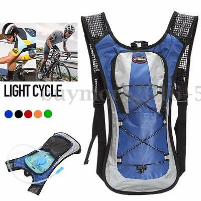 Outdoor Hiking Cycling Rucksack Water Bladder Bag Backpack Hydration Packs NSW