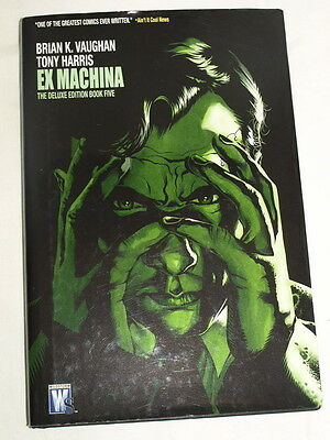 Brian K Vaughan Tony Harris Ex Machina deluxe edition book five